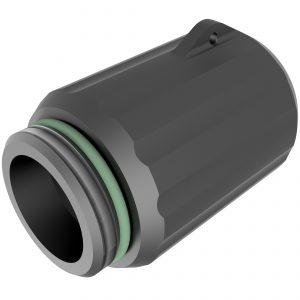 adaptor waste for deck fillers