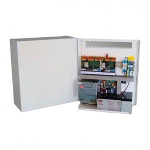 Control panel for smoke ventilation