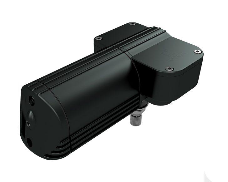 W12 wiper motor in black