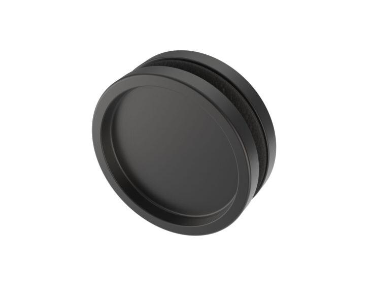 Black handle for sliding door