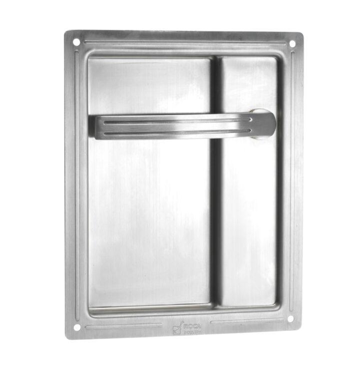 recessed lever handle